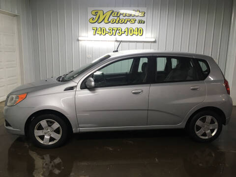 2010 Chevrolet Aveo for sale at MARIETTA MOTORS LLC in Marietta OH