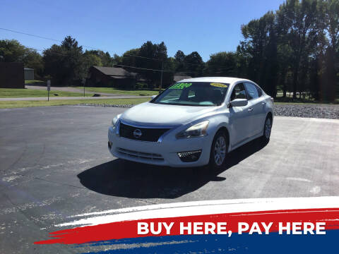 2014 Nissan Altima for sale at Choice Auto Sales LLC - Buy Here Pay Here in White House TN