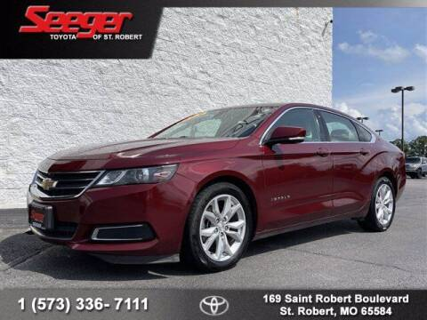 2016 Chevrolet Impala for sale at SEEGER TOYOTA OF ST ROBERT in Saint Robert MO