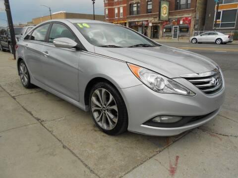 2014 Hyundai Sonata for sale at Metropolitan Automan, Inc. in Chicago IL