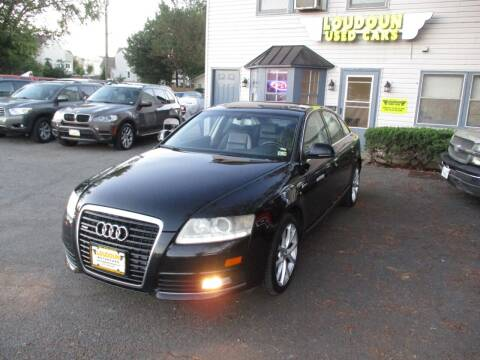 2010 Audi A6 for sale at Loudoun Used Cars in Leesburg VA