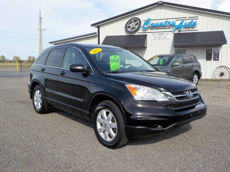 2011 Honda CR-V for sale at Country Auto in Huntsville OH