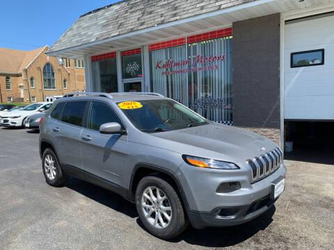 2015 Jeep Cherokee for sale at KUHLMAN MOTORS in Maquoketa IA