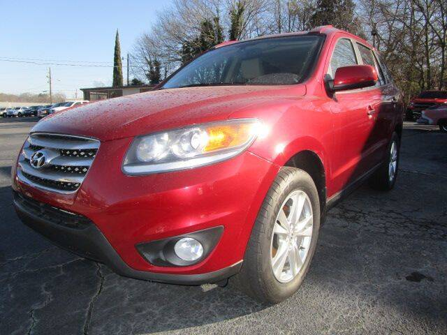 2012 Hyundai Santa Fe for sale at Lewis Page Auto Brokers in Gainesville GA