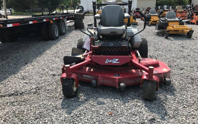 """2013 Exmark Lazer Z 66"""" 790Hrs for sale at Ben's Lawn Service and Trailer Sales in Benton IL"""