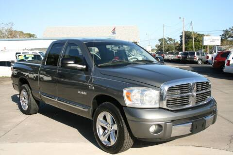 2008 Dodge Ram Pickup 1500 for sale at Mike's Trucks & Cars in Port Orange FL