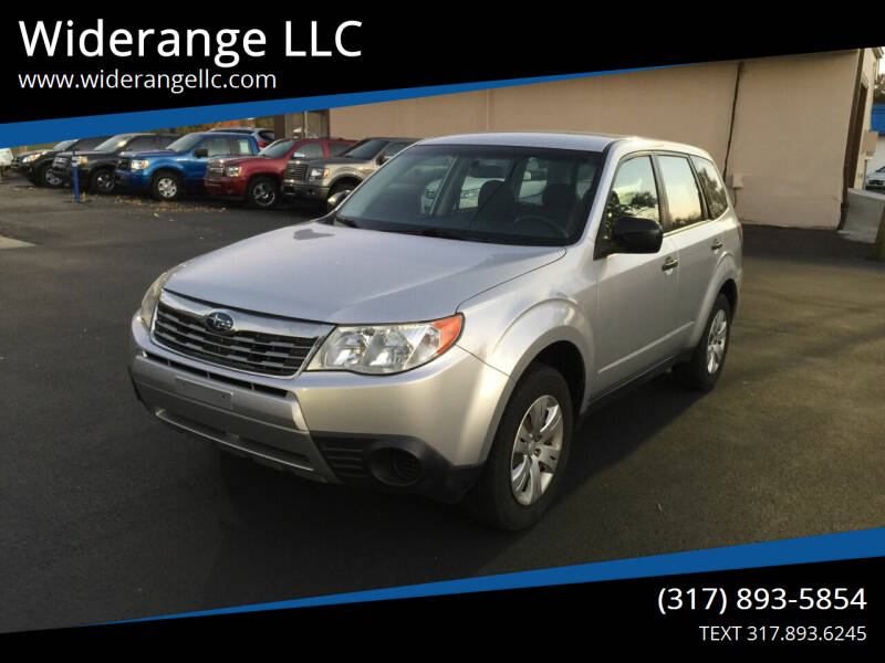 2009 Subaru Forester for sale at Widerange LLC in Greenwood IN