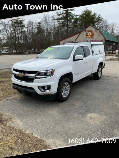 2015 Chevrolet Colorado for sale at Auto Town Inc in Brentwood NH