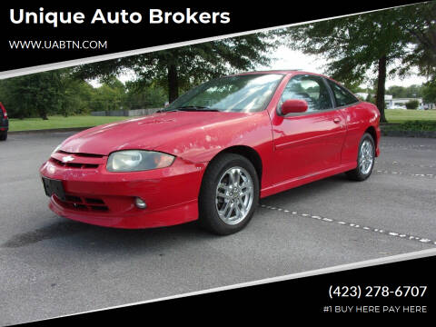 2003 Chevrolet Cavalier for sale at Unique Auto Brokers in Kingsport TN