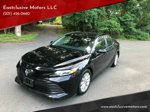 2018 Toyota Camry for sale at Eastclusive Motors LLC in Hasbrouck Heights NJ