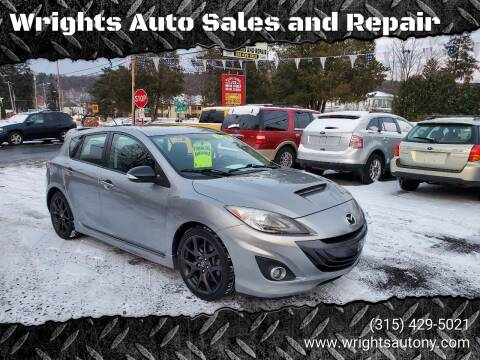 2013 Mazda MAZDASPEED3 for sale at Wrights Auto Sales and Repair in Dolgeville NY