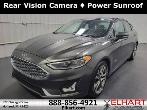 2019 Ford Fusion Hybrid for sale at Elhart Automotive Campus in Holland MI