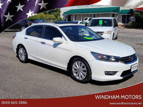 2013 Honda Accord for sale at Windham Motors in Florence SC