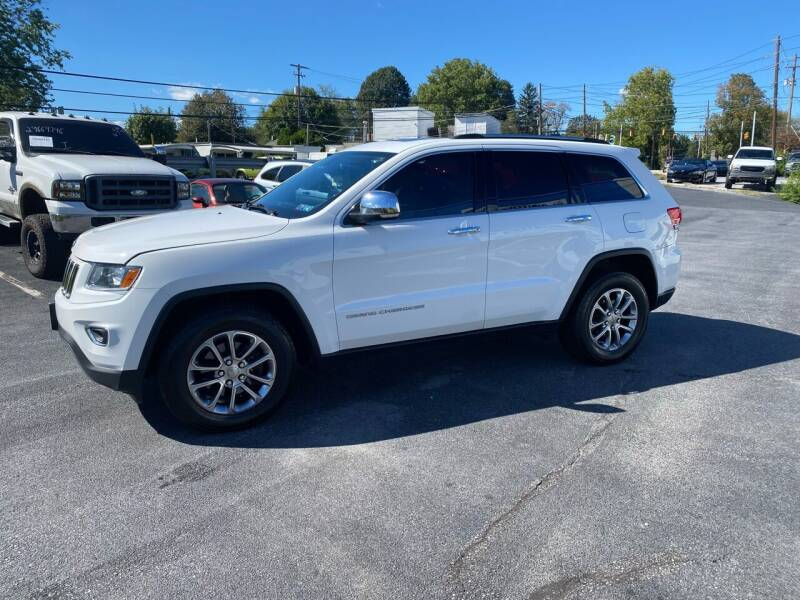 2015 Jeep Grand Cherokee for sale at Ginters Auto Sales in Camp Hill PA
