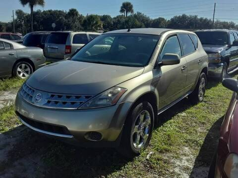 2006 Nissan Murano for sale at GOLDEN GATE AUTOMOTIVE,LLC in Zephyrhills FL