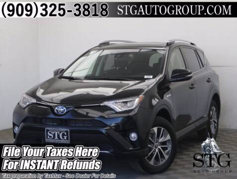 2017 Toyota RAV4 Hybrid for sale at STG Auto Group in Montclair CA