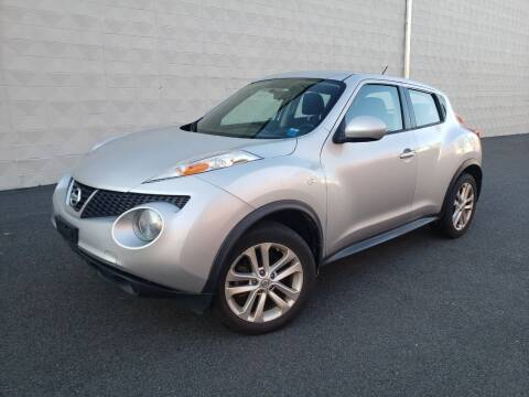 2014 Nissan JUKE for sale at Positive Auto Sales, LLC in Hasbrouck Heights NJ