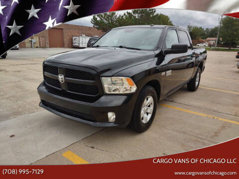 2018 RAM Ram Pickup 1500 for sale at Cargo Vans of Chicago LLC in Mokena IL
