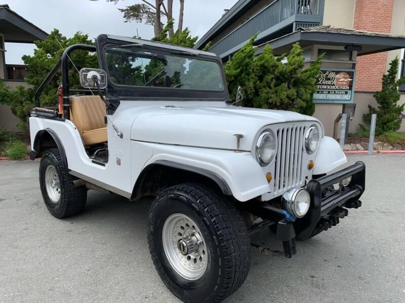 1967 Jeep Wrangler for sale at Dodi Auto Sales in Monterey CA