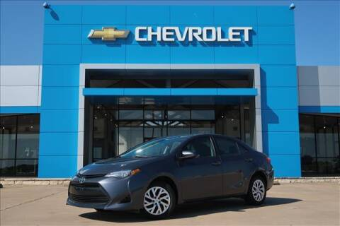 2019 Toyota Corolla for sale at Lipscomb Auto Center in Bowie TX