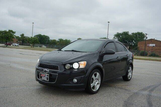 2015 Chevrolet Sonic for sale at O T AUTO SALES in Chicago Heights IL