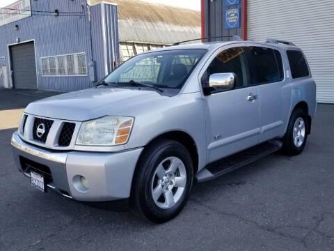2006 Nissan Armada for sale at California Auto Deals in Sacramento CA