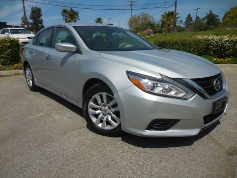 2016 Nissan Altima for sale at ARAX AUTO SALES in Tujunga CA