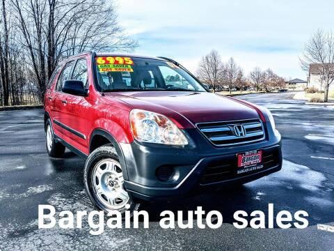 2006 Honda CR-V for sale at Bargain Auto Sales in Garden City ID