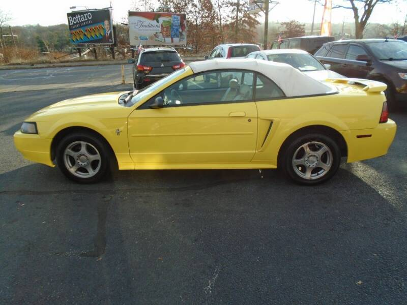 2003 Ford Mustang for sale at Gemini Auto Sales in Providence RI