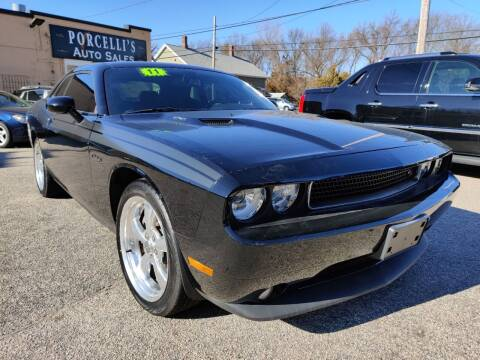 2011 Dodge Challenger for sale at Porcelli Auto Sales in West Warwick RI