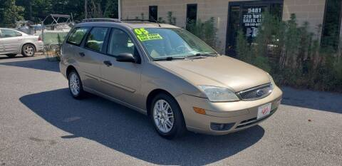 2005 Ford Focus for sale at 220 Auto Sales LLC in Madison NC