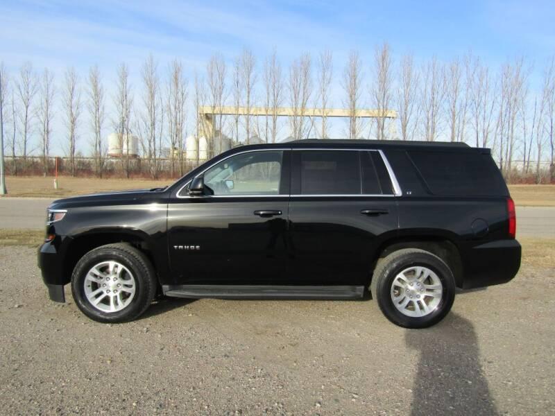 2015 Chevrolet Tahoe for sale at Elliott Auto Sales in Moorhead MN