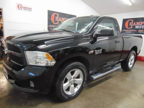 2013 RAM Ram Pickup 1500 for sale at Champion Motors in Amherst NH
