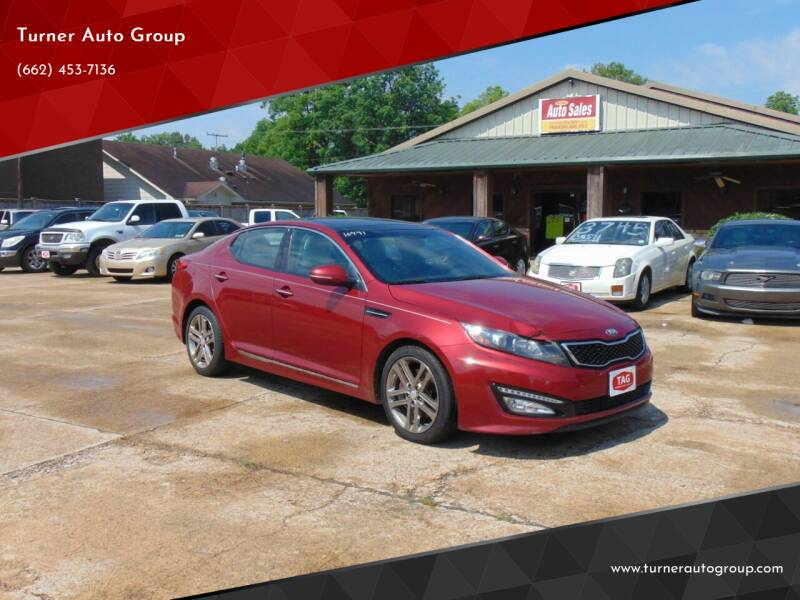 2013 Kia Optima for sale at Turner Auto Group in Greenwood MS