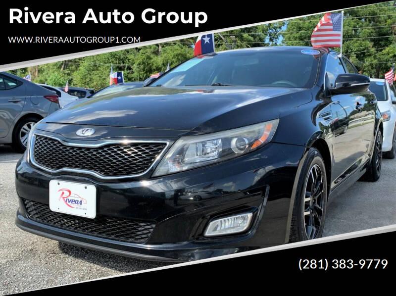 2014 Kia Optima for sale at Rivera Auto Group in Spring TX