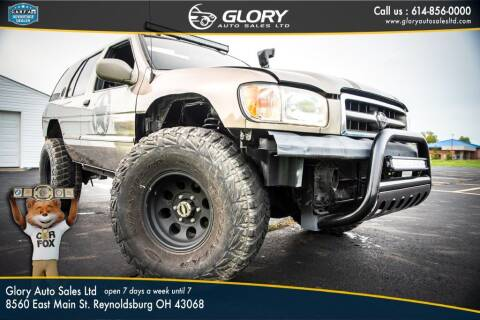 2001 Nissan Pathfinder for sale at Glory Auto Sales LTD in Reynoldsburg OH
