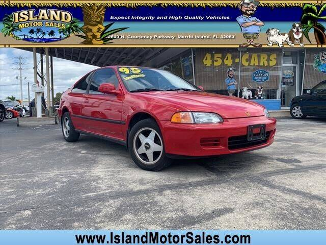 1995 Honda Civic for sale at Island Motor Sales Inc. in Merritt Island FL