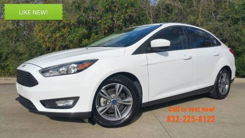 2018 Ford Focus for sale at Houston Auto Preowned in Houston TX