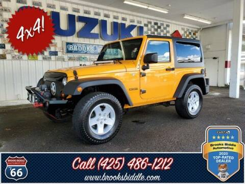 2012 Jeep Wrangler for sale at BROOKS BIDDLE AUTOMOTIVE in Bothell WA