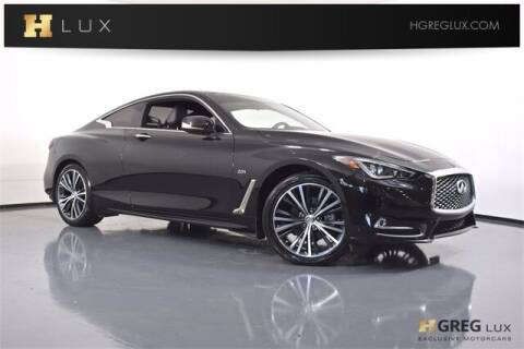 2017 Infiniti Q60 for sale at HGREG LUX EXCLUSIVE MOTORCARS in Pompano Beach FL