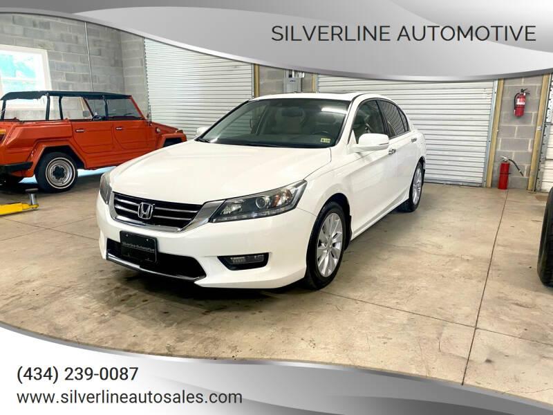 2015 Honda Accord for sale at Silverline Automotive in Lynchburg VA
