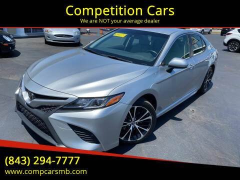 2018 Toyota Camry for sale at Competition Cars in Myrtle Beach SC