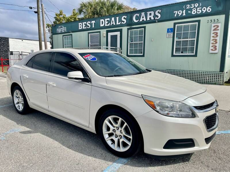 2014 Chevrolet Malibu for sale at Best Deals Cars Inc in Fort Myers FL
