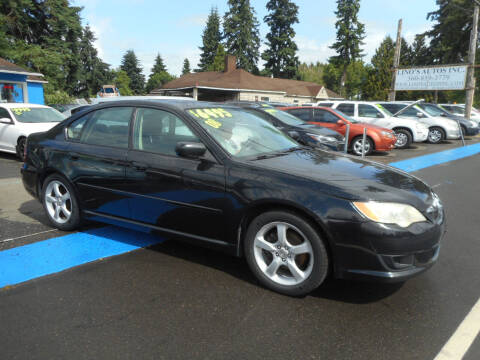 2008 Subaru Legacy for sale at Lino's Autos Inc in Vancouver WA
