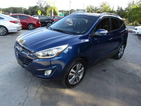 2014 Hyundai Tucson for sale at S & T Motors in Hernando FL