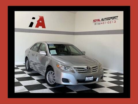 2010 Toyota Camry for sale at Royal AutoSport in Sacramento CA