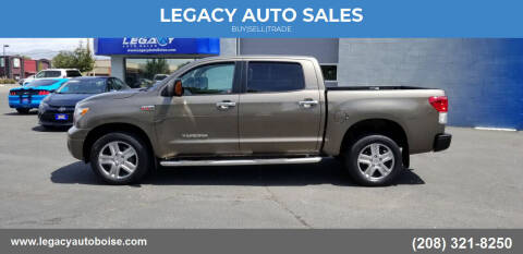 2010 Toyota Tundra for sale at LEGACY AUTO SALES in Boise ID