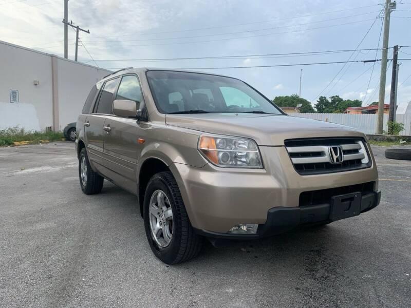 2007 Honda Pilot for sale at MIAMI FINE CARS & TRUCKS in Hialeah FL