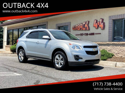 2010 Chevrolet Equinox for sale at OUTBACK 4X4 in Ephrata PA
