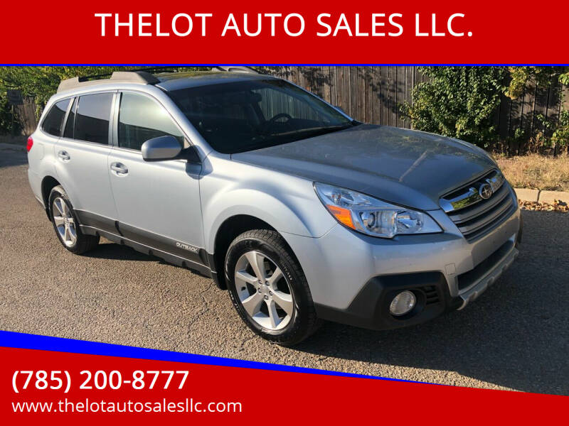 2014 Subaru Outback for sale at THELOT AUTO SALES LLC. in Lawrence KS